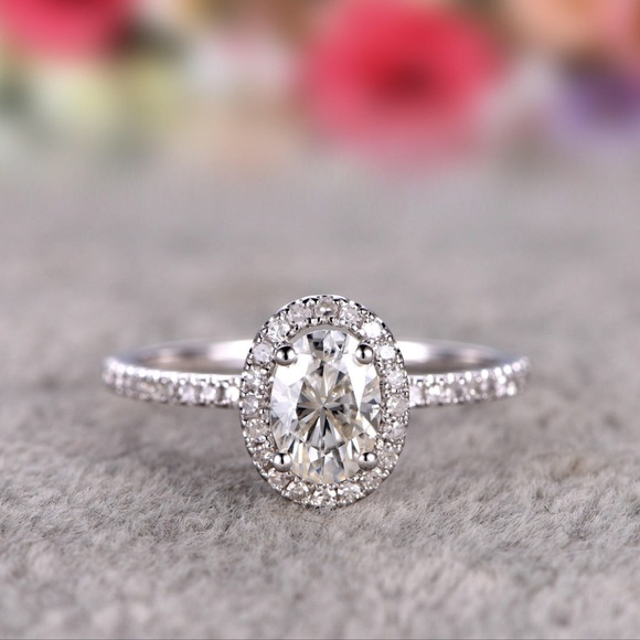c2b85461bf Jewelry | Solid 925 Silver Engagement Wedding Promise Ring | Poshmark